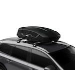 Force XT Small - Versatile roof-mounted cargo box for everyday use.